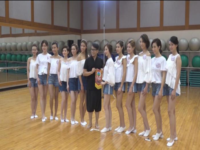 (國語)港姐台北接受演戲訓練