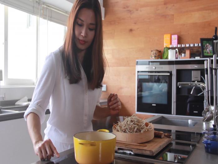 Kit Mak美女廚神_牛蒡一弄-和式醬煮牛蒡