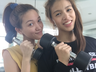 Let's workout! With J & 黃瑋琦Emily