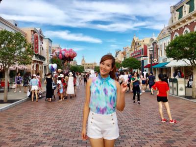 2017-08-04 幸美他約我去迪士尼