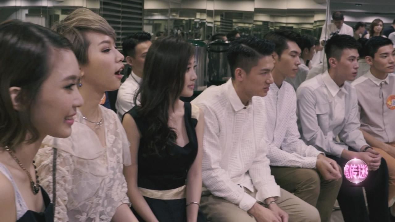 (國語)與台灣KOL藝人會面 候選港姐從容面對考驗