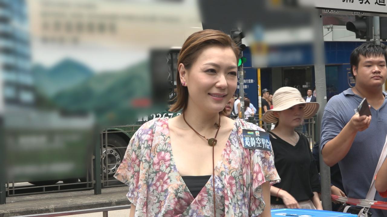 (國語)鬧市宣傳超時空男臣 田蕊妮自爆社交平台趣事