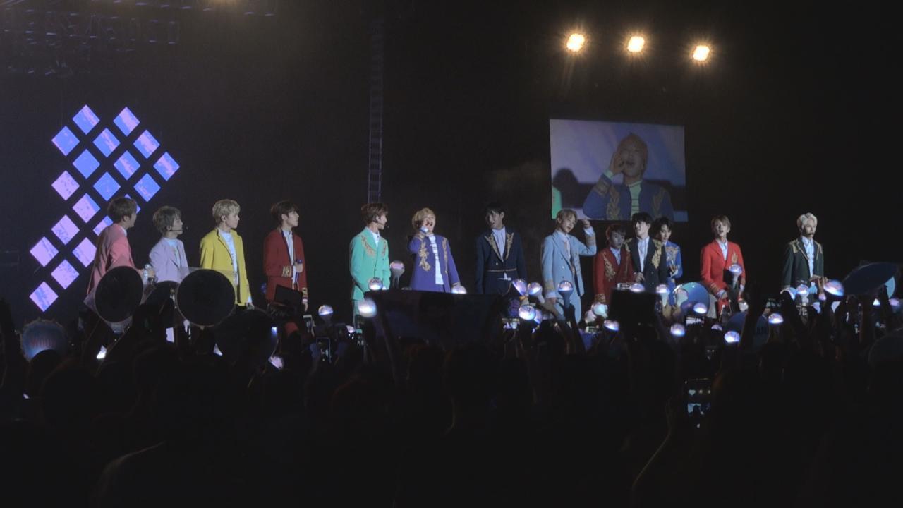 (國語)Seventeen香港舉行演唱會 13子大講中文哄粉絲