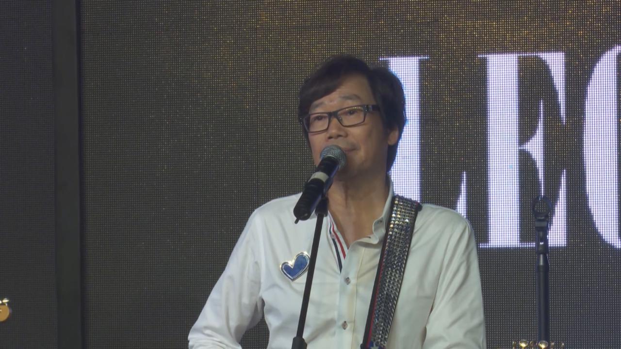(國語)彭健新現身上海出席活動 大唱經典歌曲炒熱氣氛