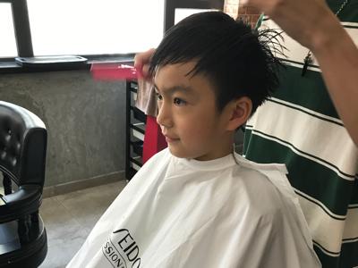 陳祉丞 cute hair