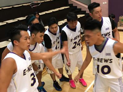 娛樂新聞台 vs Wave 籃球賽
