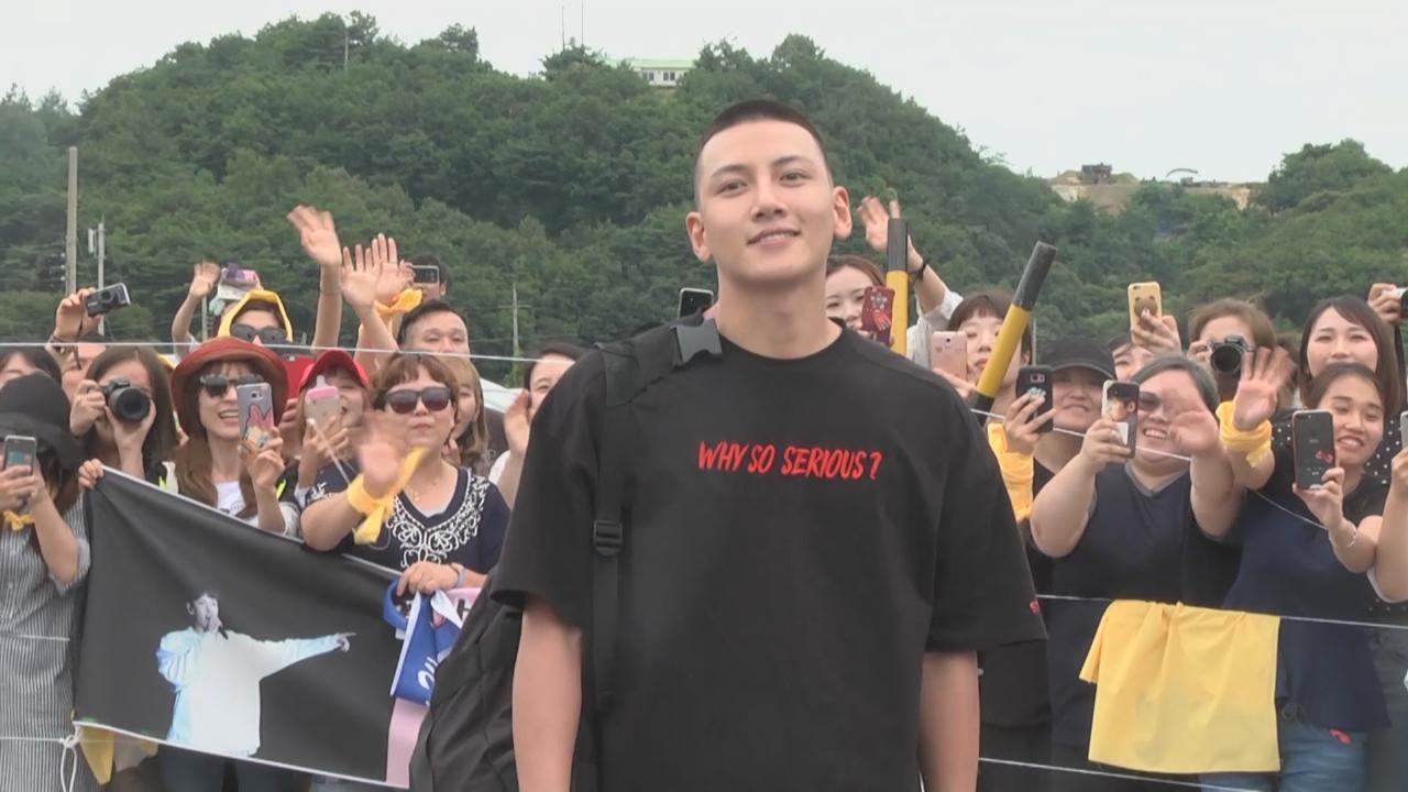 (國語)韓國型男池昌旭服兵役 獲大批粉絲軍營外送行