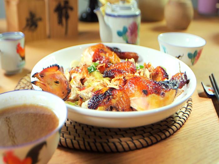 阿爺廚房_京蔥燒雞