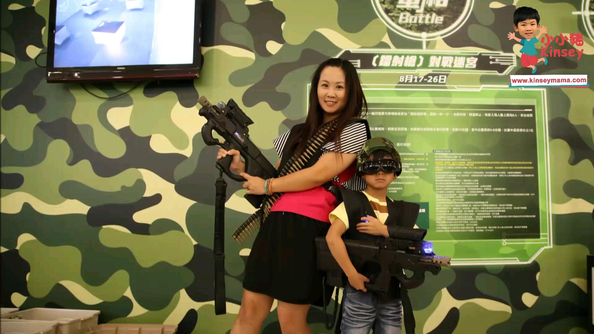 小小豬玩樂篇 - 商場內的槍戰