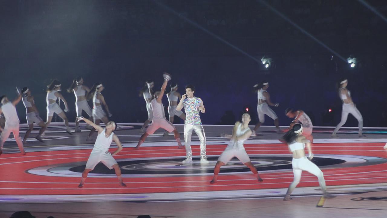 (國語)第29屆世大運台北揭幕 王力宏壓軸演出氣氛熱烈