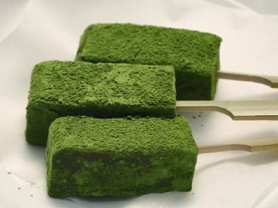 [食左飯未呀 Cookat] 綠茶糯米糕