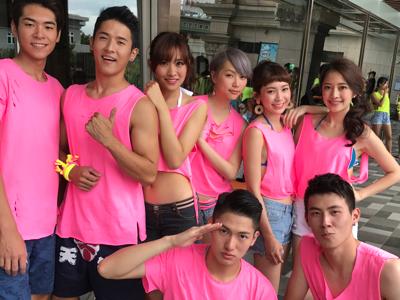 2017-08-22 星級髮型師Milk lin的直播,香港台灣後生仔水上決鬥