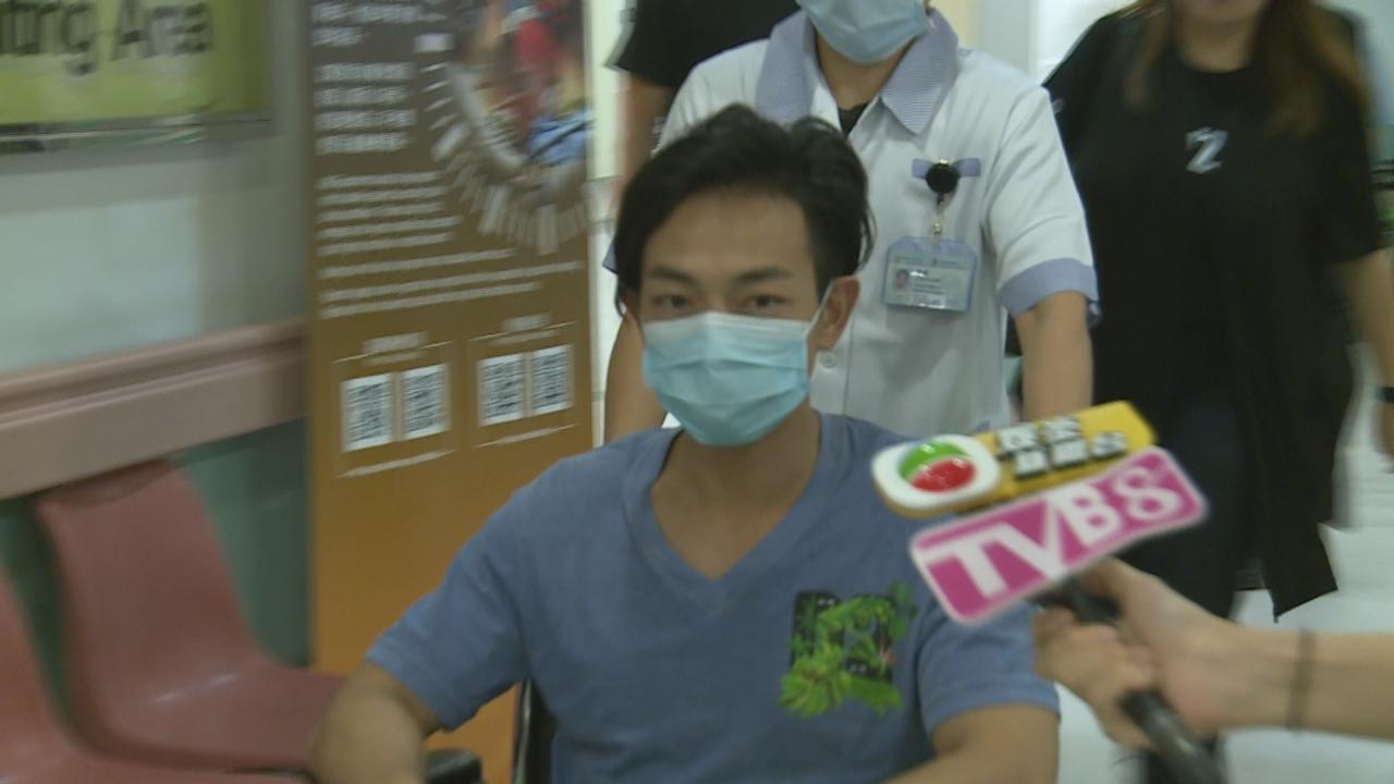 梁烈唯拍劇意外受傷 送院檢查無大礙獲准出院