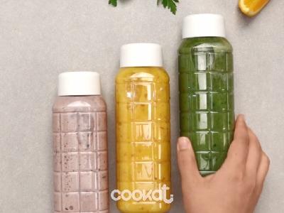 [食左飯未呀 Cookat] 一天三杯 彩虹排毒果汁