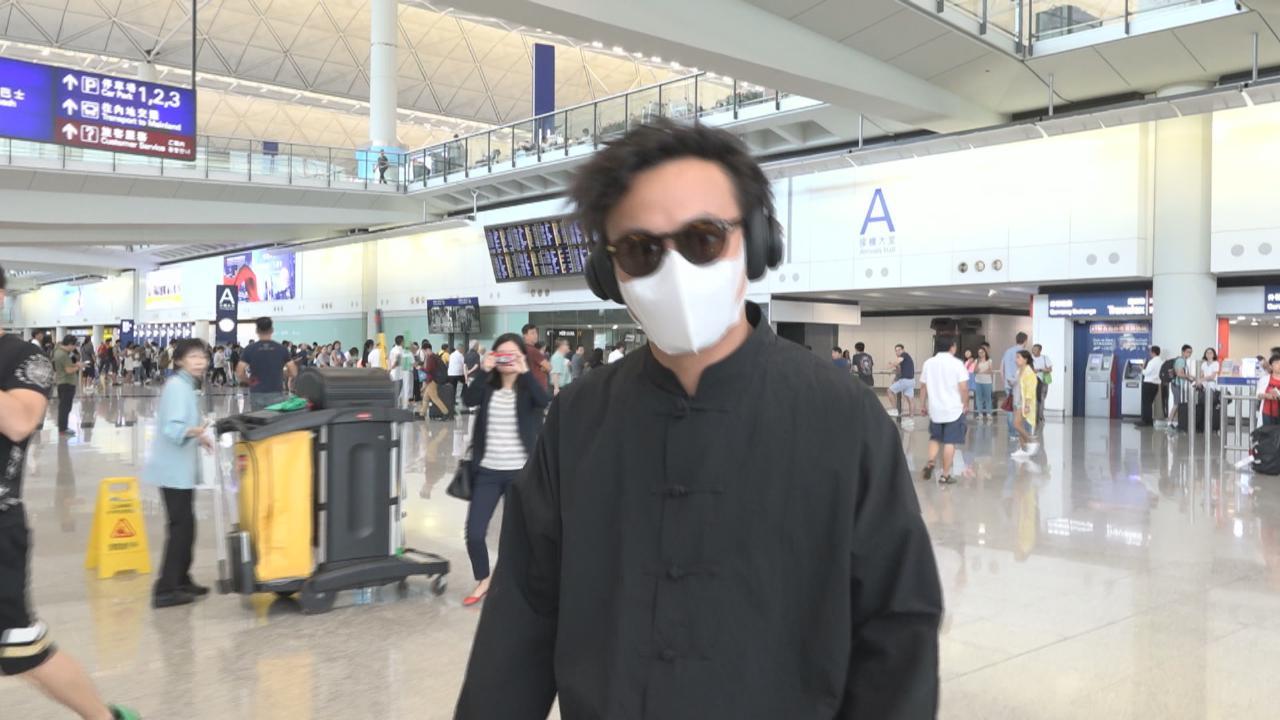 傳喉嚨發炎取消台灣宣傳工作 陳奕迅疑失聲提前返港