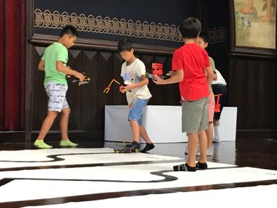 2017-08-26 第七屆人類機械人教室全國大會 任務賽比賽情況