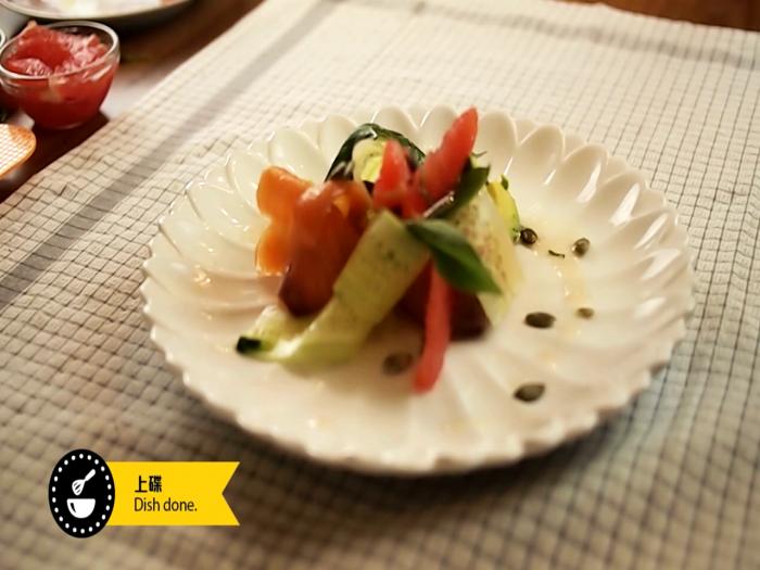 點煮Jack_ 三文魚牛油果西柚沙律