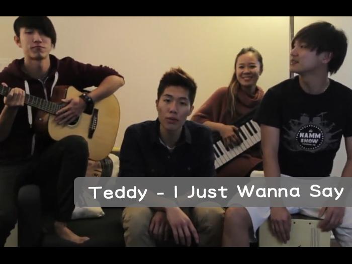 I Just Wanna Say-Teddy