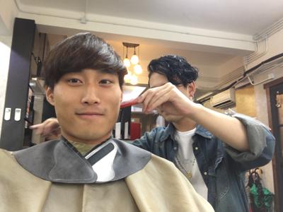 Vitas終於肯剪頭毛