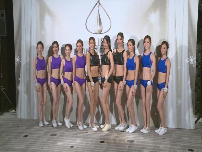 (國語)決賽在即 10位佳麗學跳減壓操
