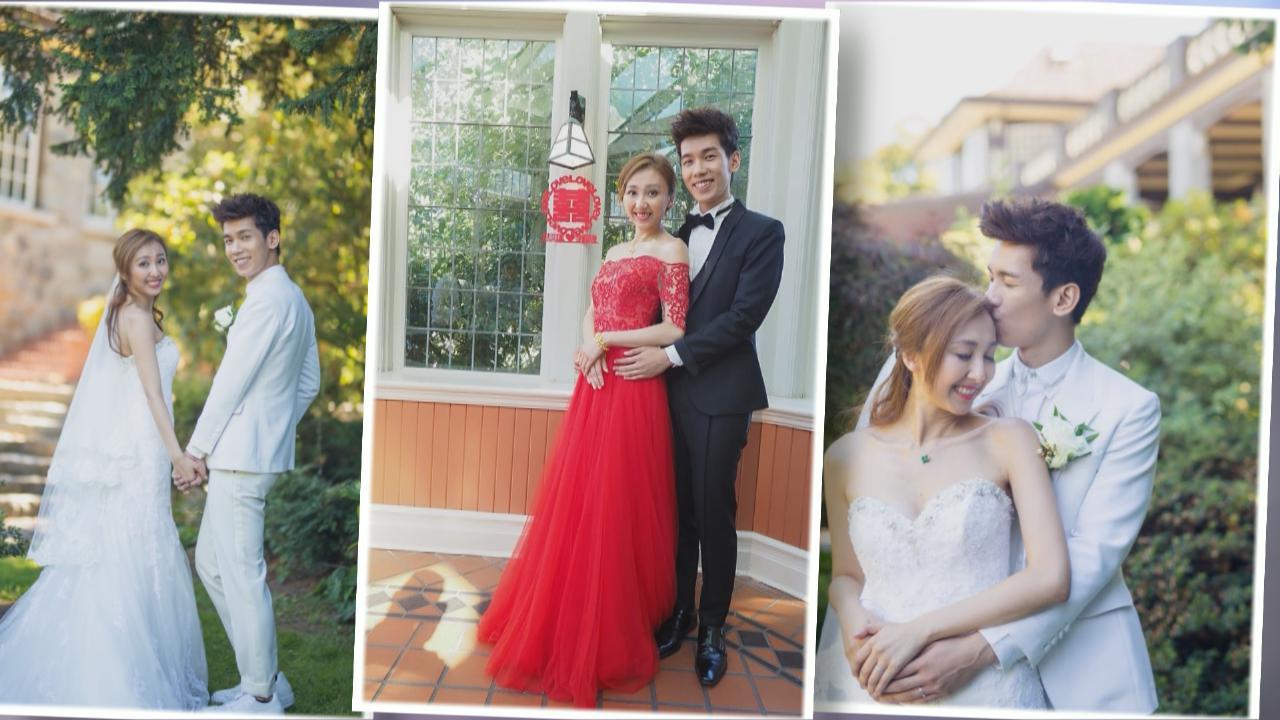 加拿大母校舉行婚禮 林奕匡正式迎娶女友