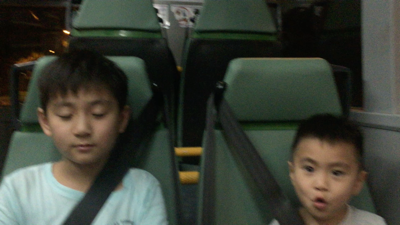 Aiden & Maxi - Sing in the bus