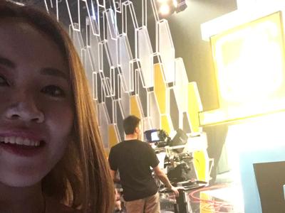 在TVB做節目!