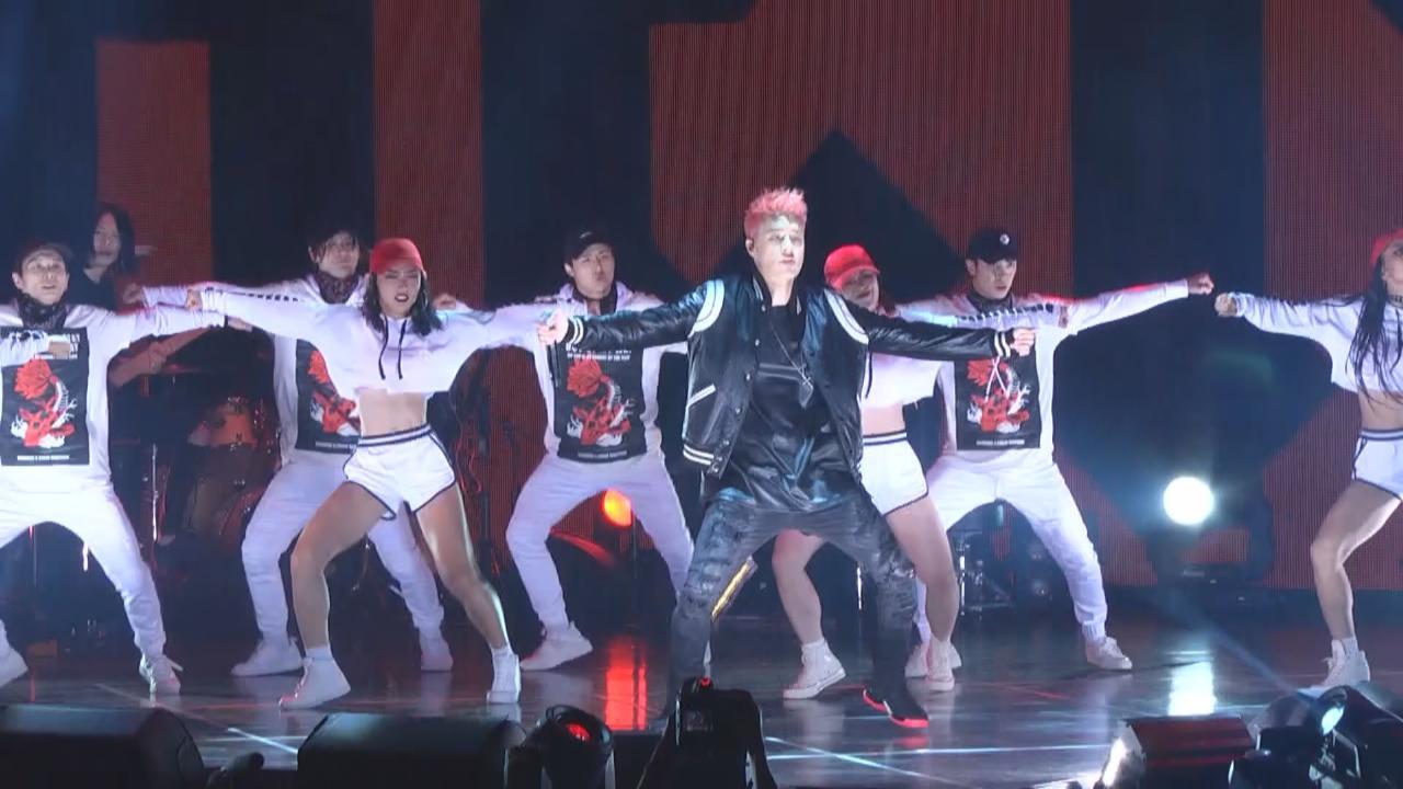 演唱會台北開鑼 周湯豪勁歌熱舞氣氛高漲