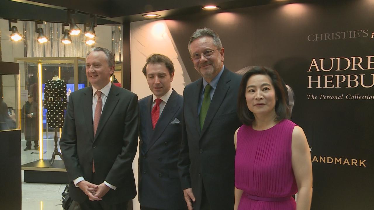 柯德莉夏萍香港展覽開幕 兒子SeanHepburnFerrer緬懷媽媽優雅氣質