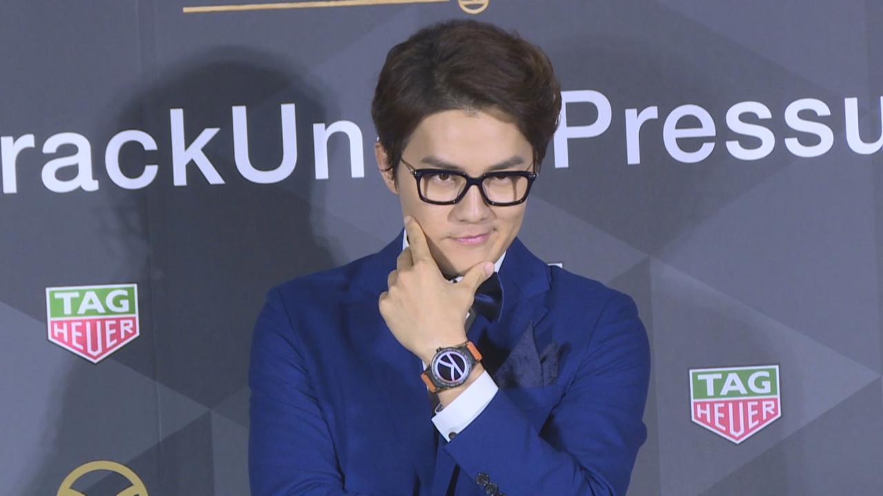 吳克群化身金牌特務出席活動 透露將執導首部電影
