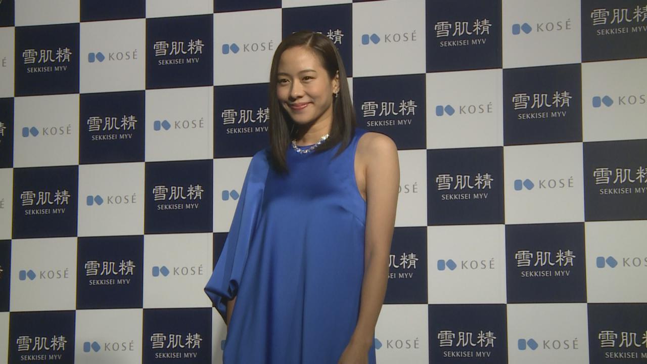 赴日本拍攝廣告 林嘉欣笑言未有掛住囡囡