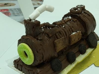 蒸氣火車蛋糕可以咁做