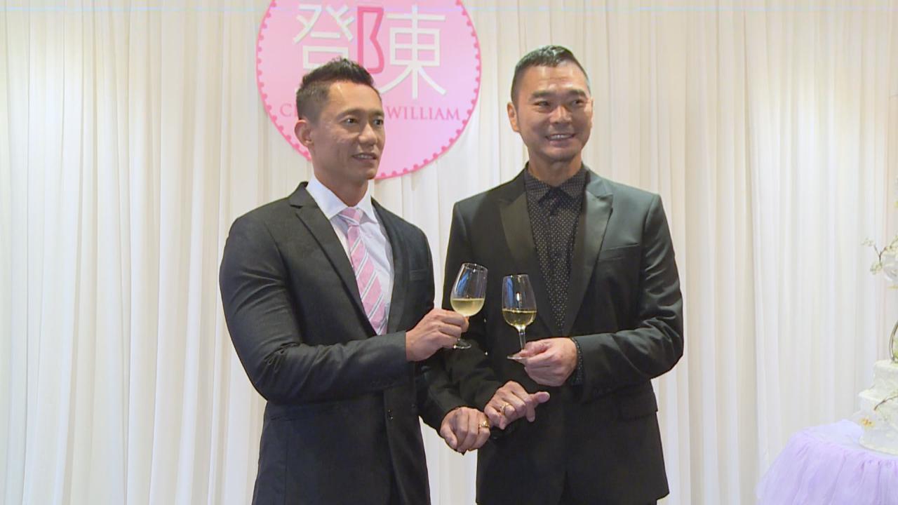 與醫生男友香港舉行婚宴 鄧達智願為另一半改變