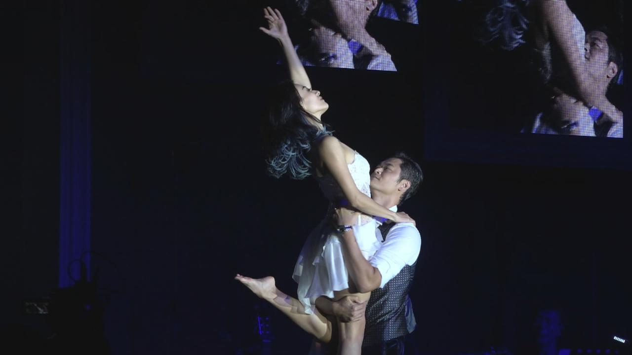 江若琳個唱開鑼 與男友Oscar深情共舞