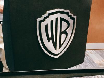 姚安娜哈利波特WB片場的直播