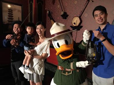 香港迪士尼樂園大冒險家晚宴的直播