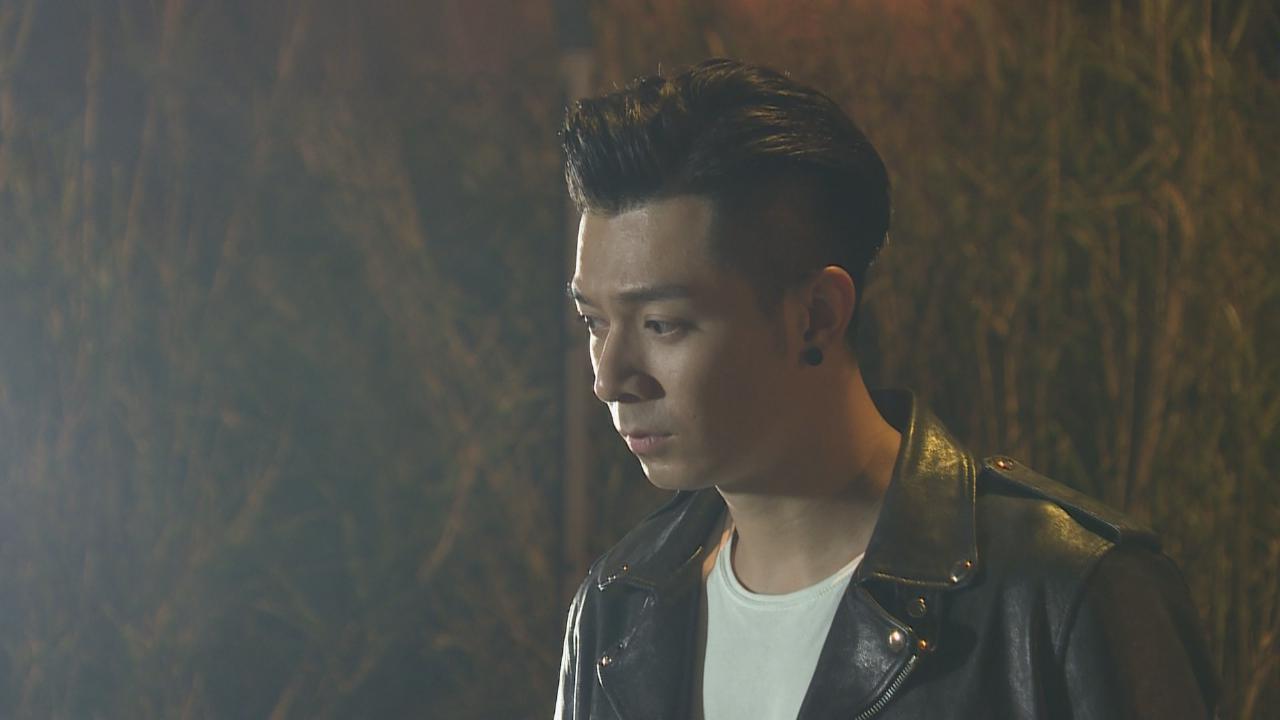 拍攝使徒行者2主題曲MV 周柏豪有意考電單車牌