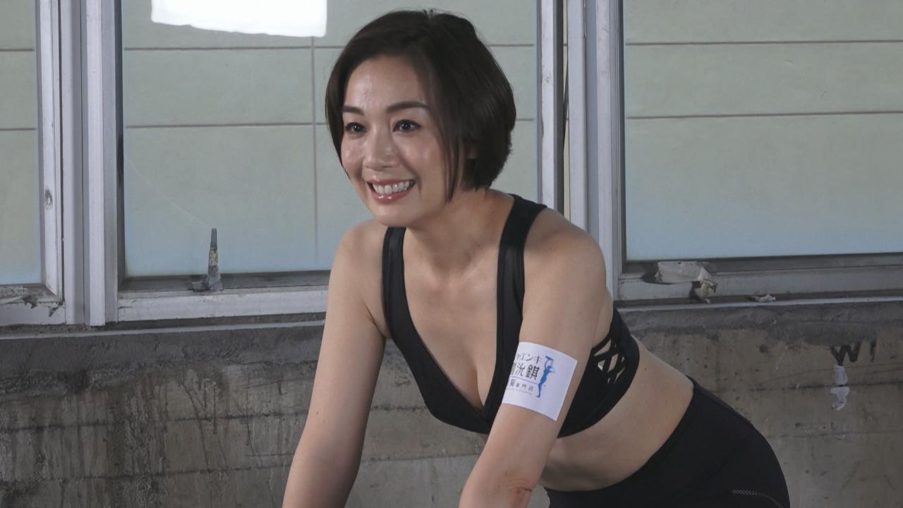 (國語)江美儀性感上陣拍廣告 盡情大秀完美身材