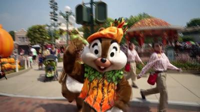 香港迪士尼樂園Halloween Time慶典