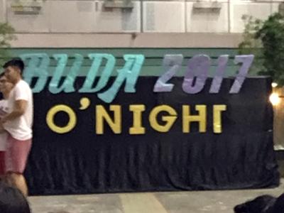 BUDA O night