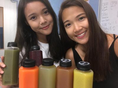介紹一下 果汁detox + 家姐