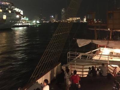 大阪天保山坐船?