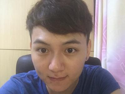 剛剪完頭髮