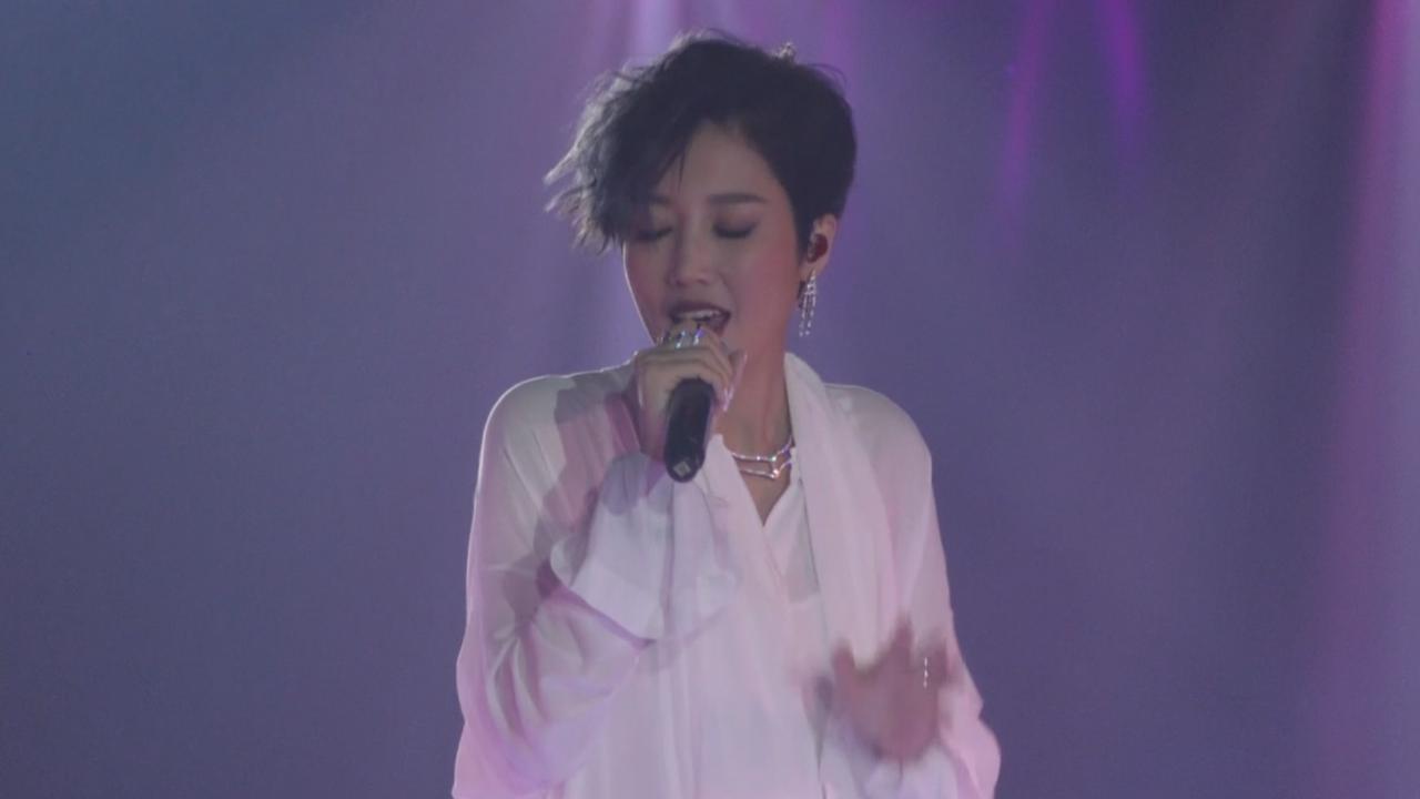 ALin台灣舉行新歌演唱會 以型格打扮與粉絲見面