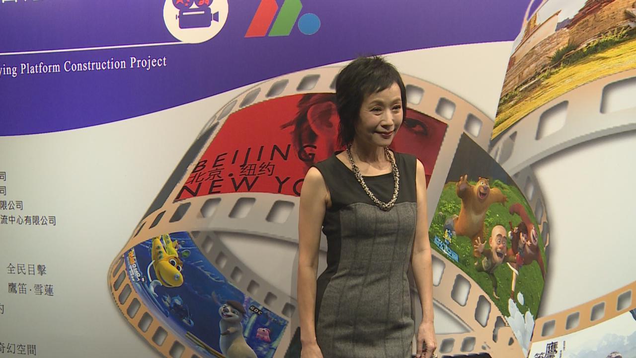 葉童嘆香港影業萎縮 市場小競爭力不足