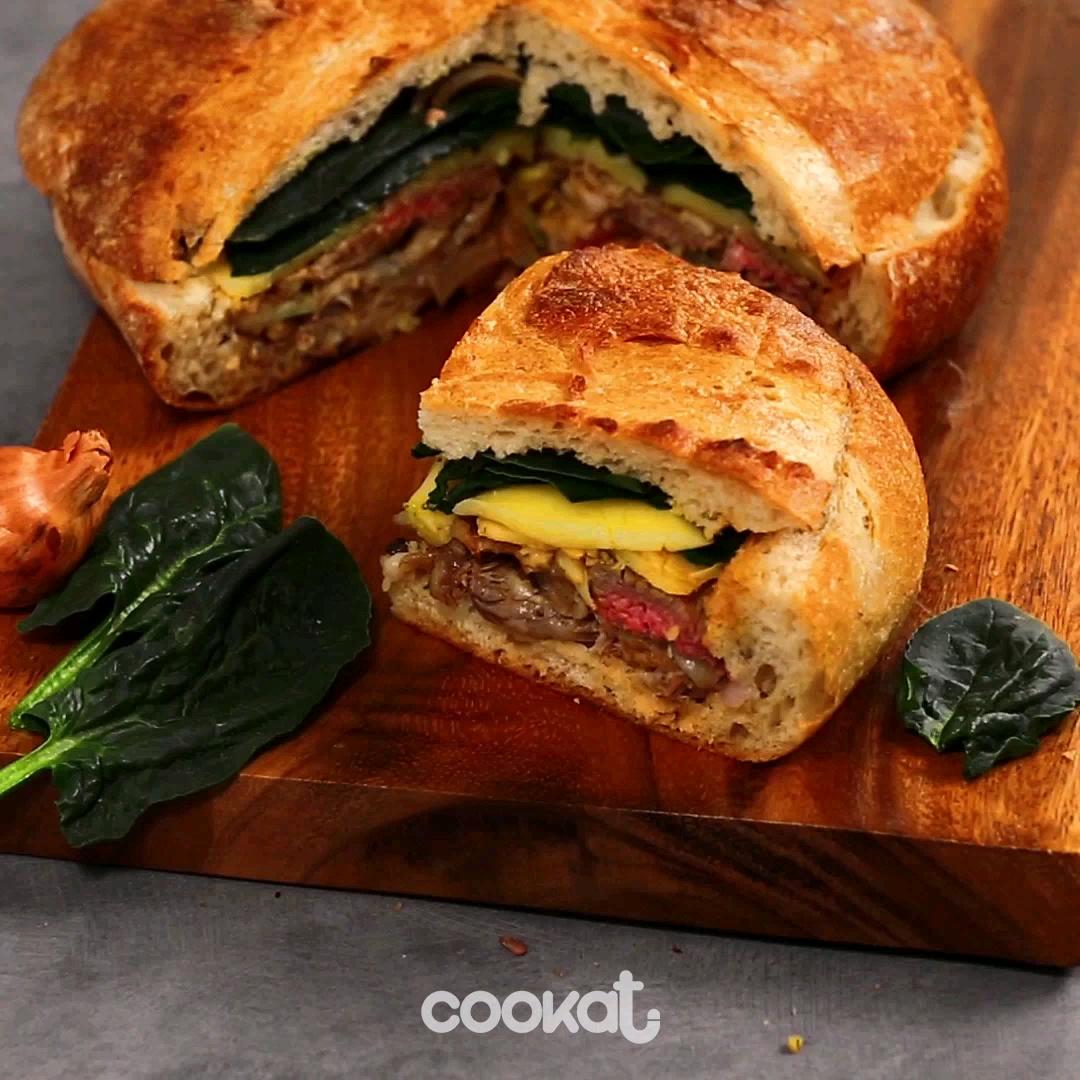 [食左飯未呀 Cookat] 牛肉鄉村麵包