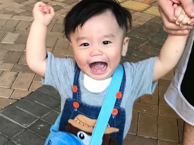2017-09-28 11個月的馬熙宸 Hysan 學行路仔啦⋯bb