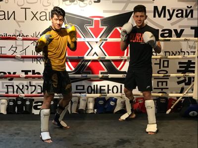 麥凱程同胡㻗對打 - Sparring Boxing Muay Thai - Alex Le Mak