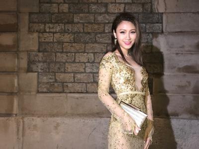國際甄尚獎 | 在巴黎時裝周走紅地毯