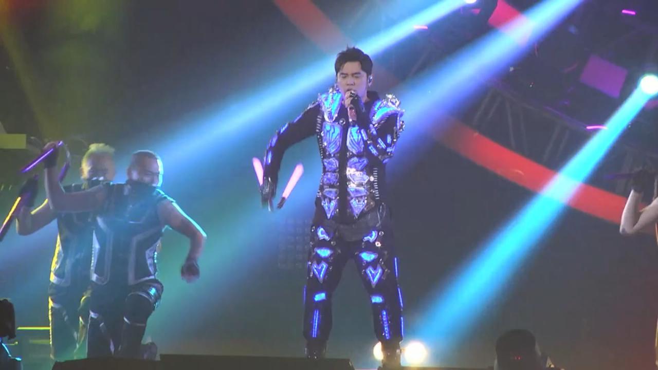 (國語)台北小巨蛋個唱尾場 周杰倫勁歌熱舞賣力演唱